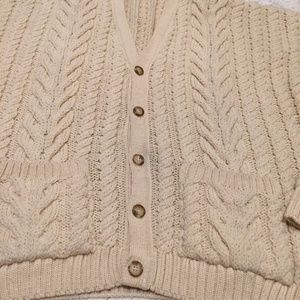 57e8e3a7d6498 Vintage Sweaters - PAUL JAMES Made in England 100% Pure Wool Braided